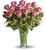 Roses: Make Me Blush Rose Bouquet